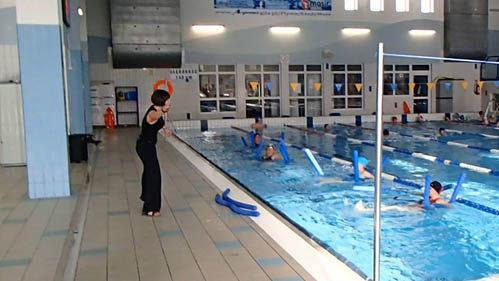 Trening Hydro Fitness MOSiR Gdańsk Chełm - Niedziela 18.20