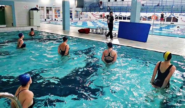 Fitness na basenie Gdańsk Chełm – 18:20 Sobota