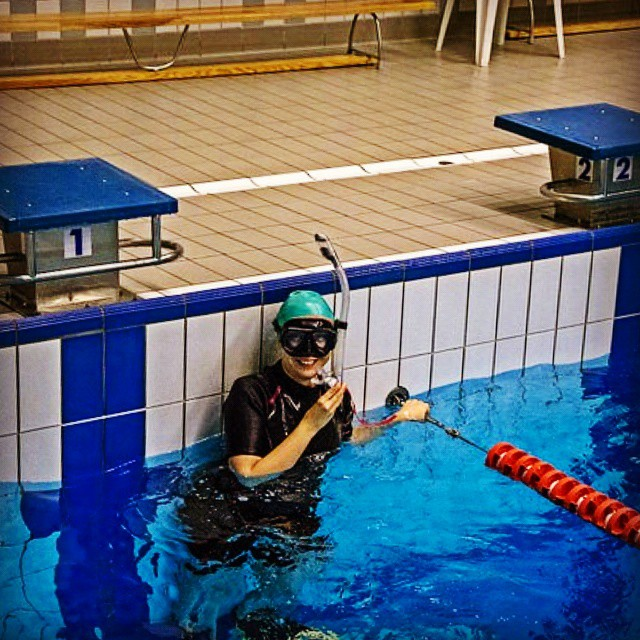 Doskonalenie pywania na duym basenie swimming lesson pool training lekcjehellip