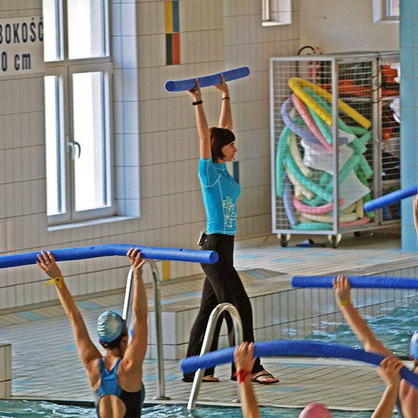 Zapisy na Aqua Aerobic - fitness na małym basenie MOSiR Gdańsk Chełm