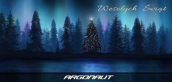Zdrowych i Wesołych Świąt Bożego Narodzenia życzy Argonaut