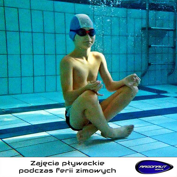 Zapraszamy na zajęcia pływackie w czasie Ferii Zimowych