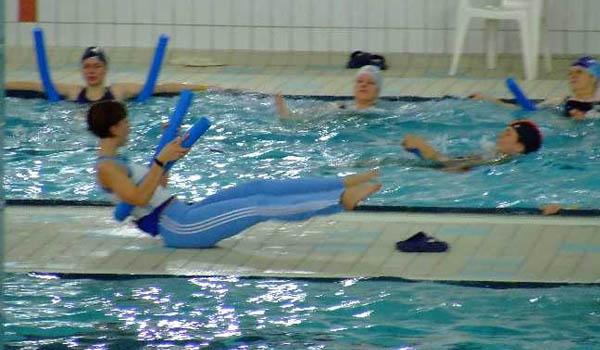 Zajęcia aerobiku w wodzie Gdańsk Chełm - 2007r