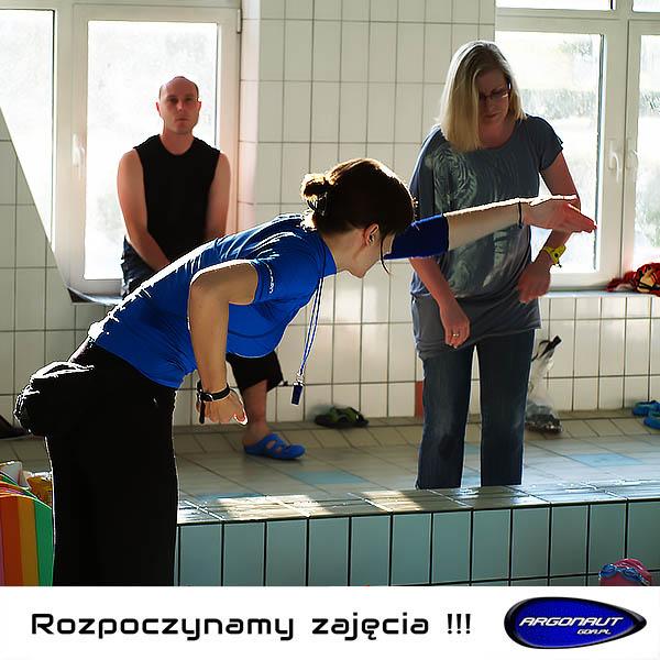 Rozpoczynamy zajęcia sportowe na pływalni MOSiR Gdańsk Chełm i Politechniki Gdańskiej