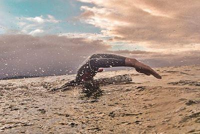 Zniżki dla studentów<br /> na treningi pływania<br /> w Triathlonie