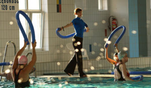 Harmonogram Aqua Aerobicu na małym basenie MOSiR Gdańsk Chełm