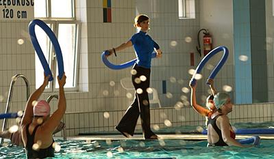 Schedule Aqua Aerobics<br /> at the small pool MOSiR Gdańsk Chełm