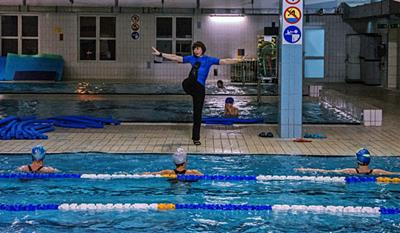 Schedule Hydro Fitness at the large<br /> pool MOSiR Gdańsk Chełm