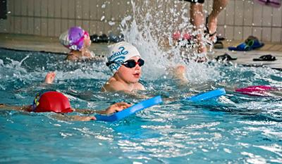 Schedule swimming lessons<br /> for children over five years<br /> MOSiR Gdańsk Chełm