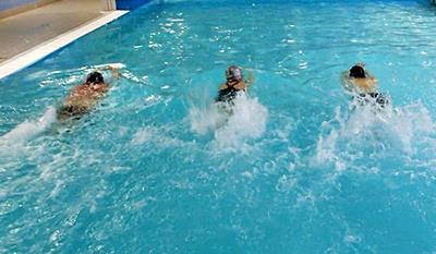 Harmonogram nauki pływania<br /> od podstaw w Triathlonie<br /> na basenie <font color=``00ff00``>Politechniki Gdańskiej</font>