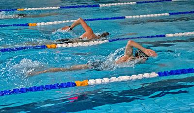 Schedule swimming workouts in triathlon<br /> MOSiR Gdańsk Chełm