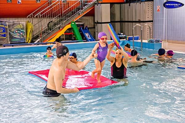 Nauka pływania dla dzieci Politechnika Gdańska