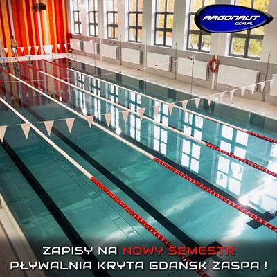 Zapisy na nowy semestr - pływalnia kryta Gdańsk Zaspa !
