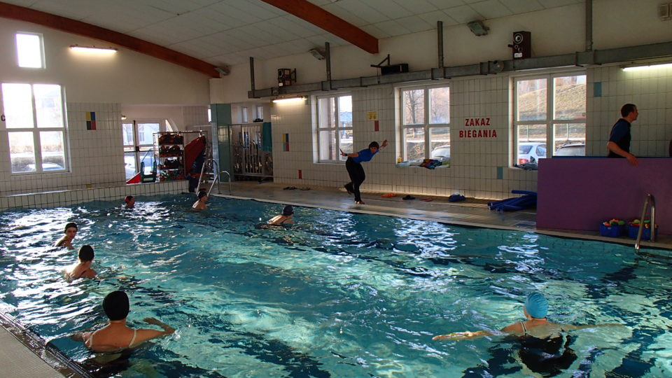 Hydro Fitness aerobik na dużym basenie w Gdańsku