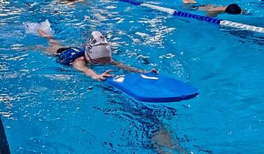 Zapisy na indywidualne<br /> lekcje pływania