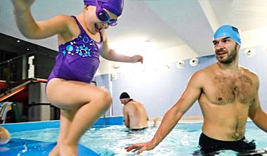 Galeria zdjęć i filmów<br /> z nauki pływania dla dzieci