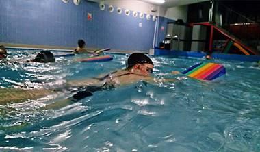 Galeria zdjęć i filmów<br /> z nauki pływania