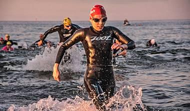 Galeria zdjęć i filmów<br /> z lekcji i treningów pływania w Triathlonie