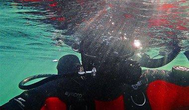Promocja kursów nurkowania