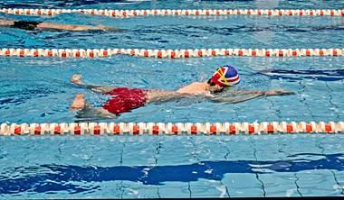Treningi pływania<br /> dla młodzieży i dorosłych