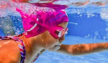 Zapisy na<br /> lekcje pływania dla dzieci