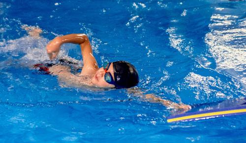 Harmonogram doskonalenia pływania dla dzieci na małym basenie Politechniki Gdańskiej
