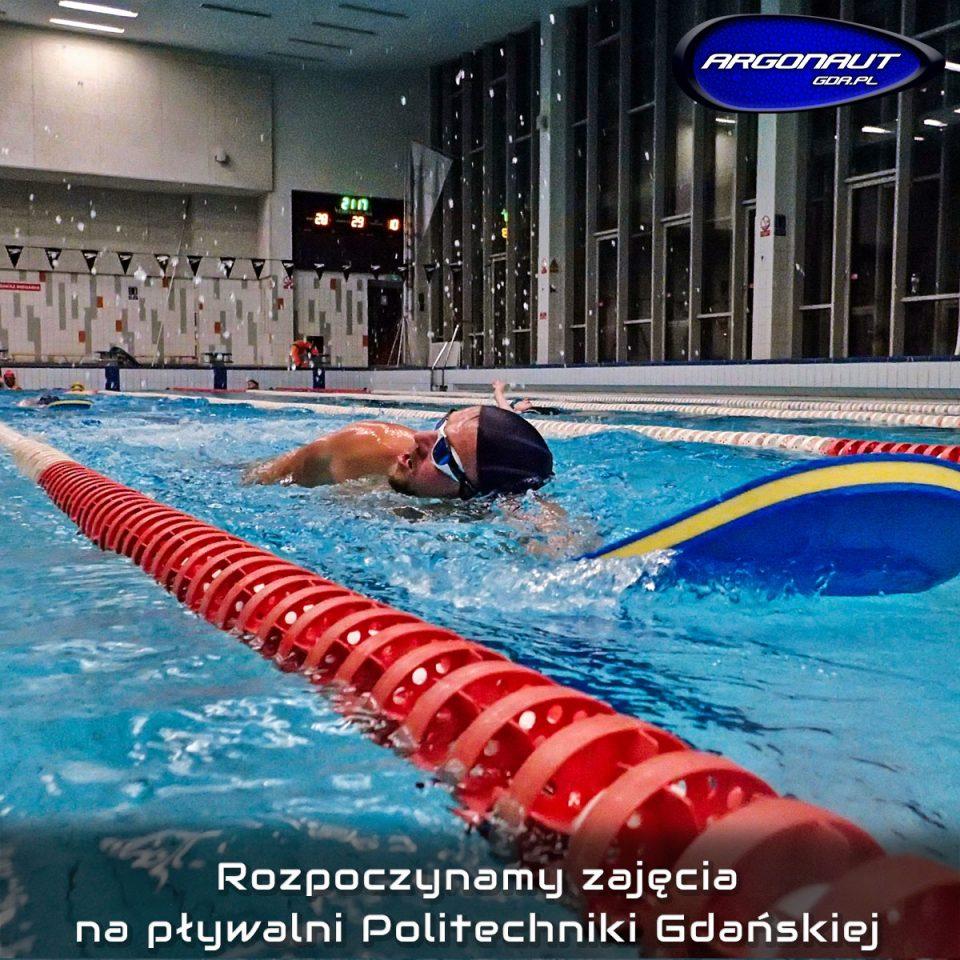 Przypominamy, iż 20.09.2018r (czwartek) rozpoczynamy zajęcia na pływalni krytej Politechniki Gdańskiej