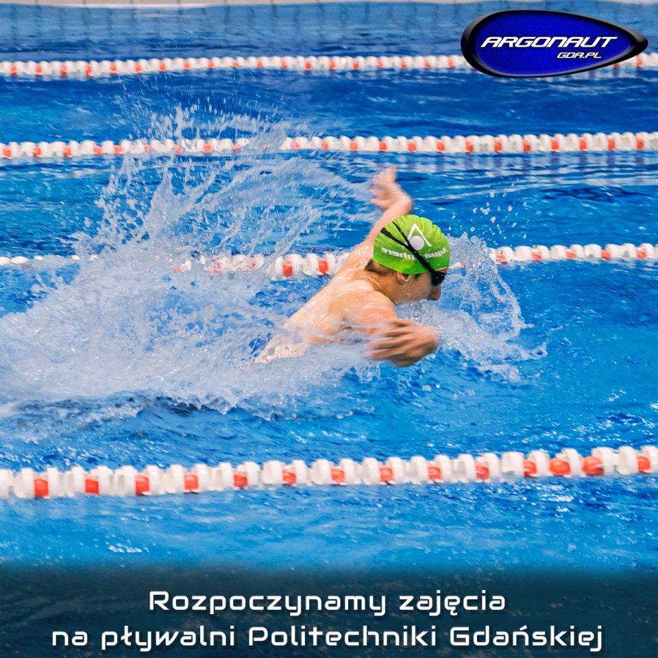 Przypominamy, iż 18.09.2018r (wtorek) rozpoczynamy zajęcia na pływalni krytej Politechniki Gdańskiej